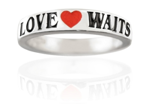 Love Waits Purity Ring from PurityRings.com
